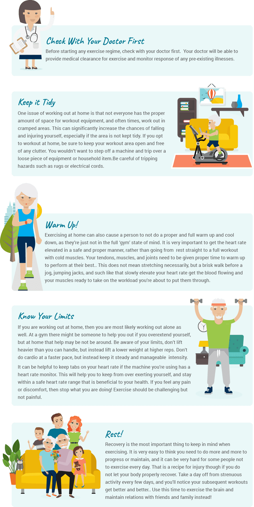 Injury prevention guide
