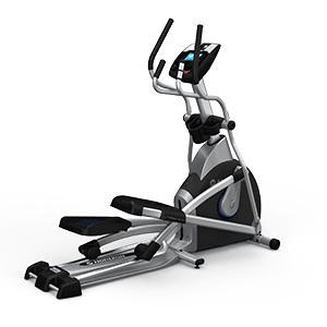 Horizon EX-79 Elliptical looks elegant in black, gray and silver body frame