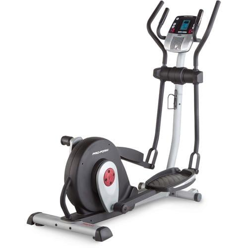 ProForm Smart Strider Elliptical in diagonal view