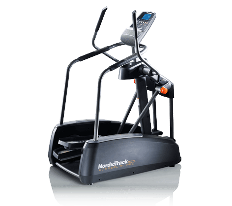NordicTrack A.C.T. Commercial Elliptical on a transparent background
