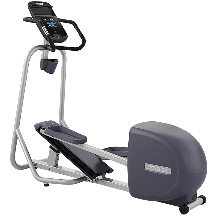 Precor EFX 221 Elliptical Fitness Crosstrainer on a transparent background