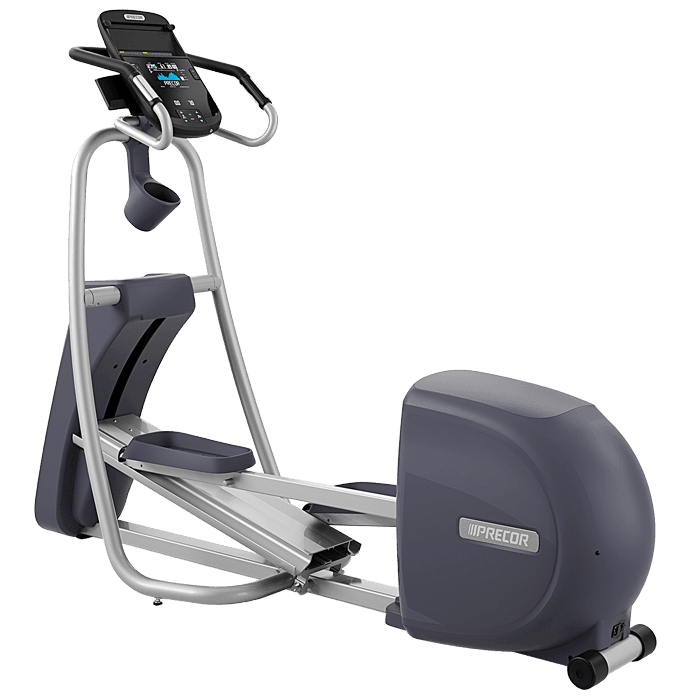 Precor EFX 423 Elliptical Fitness Crosstrainer on a transparent background
