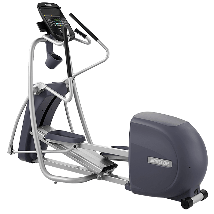 Precor EFX 447 Elliptical Crosstrainer on a transparent background