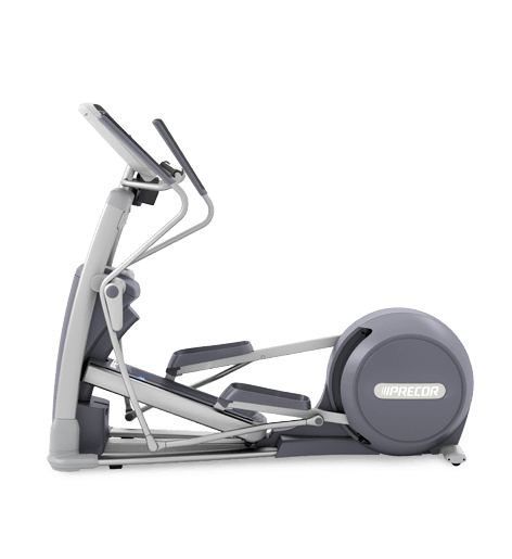 Precor EFX 835 Elliptical Fitness Crosstrainer on a transparent background