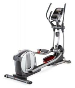 Pro-Form SmartStrider 935 Elliptical in a gray and silver body frame