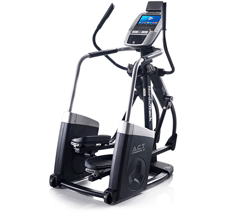 Nordictrack ACT Commercial 10 Elliptical with transparent background