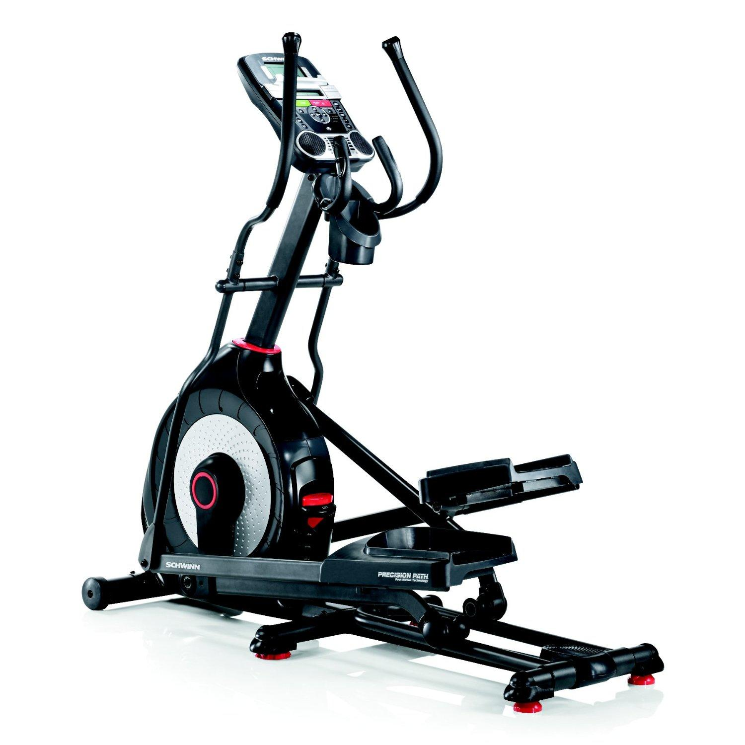 Schwinn 430 Elliptical look awesome in full black body frame