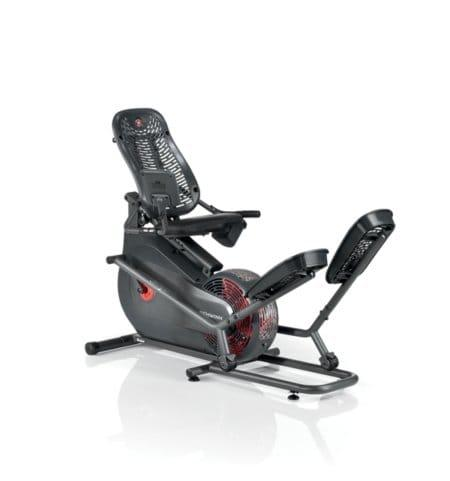 Schwinn 520 Recumbent Elliptical in full black body frame