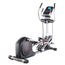 Freemotion 510 Elliptical in black and silver body frame
