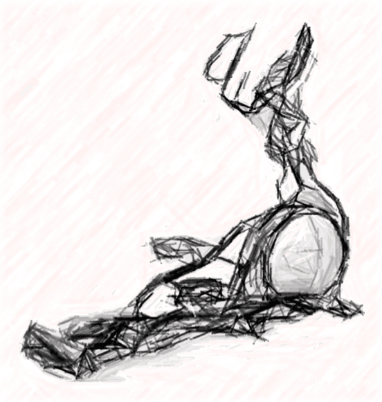 Elliptical Machine sketch