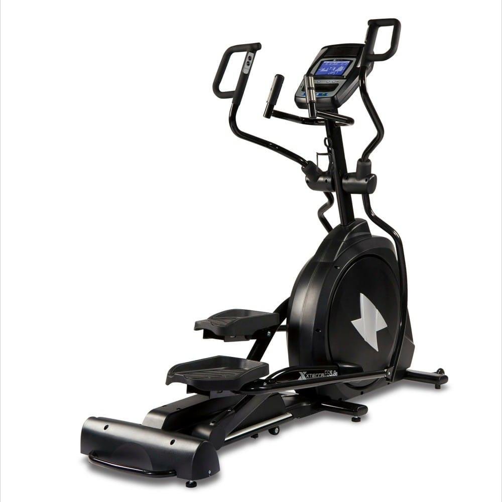 xterra 5 8e elliptical in a full black body frame