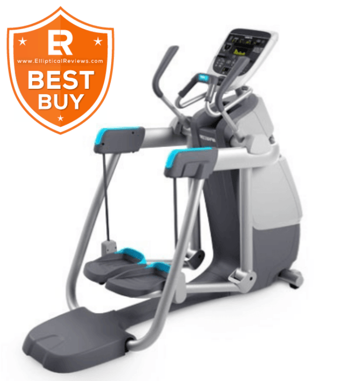 Precor AMT 835 Elliptical Trainer Machine with best buy logo