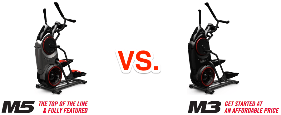 Bowflex Max Trainer M5 vs. M3 - What's the Difference ...