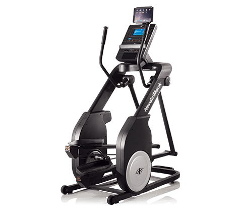 NordicTrack FS5i FreeStride Trainer Elliptical Machine on a transparent background