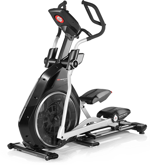Bowflex BXE216 Elliptical Trainer on a transparent background