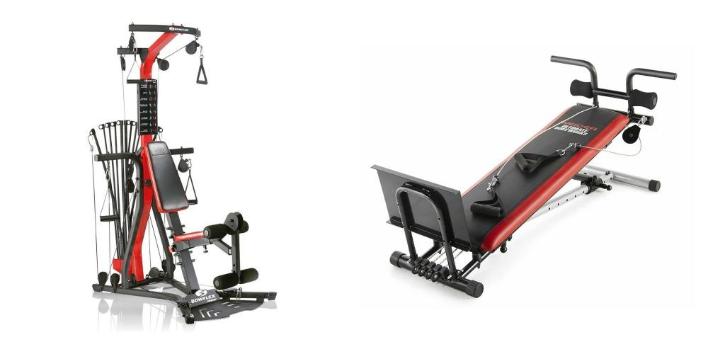 Bowflex Vs. Total Gym, side by side