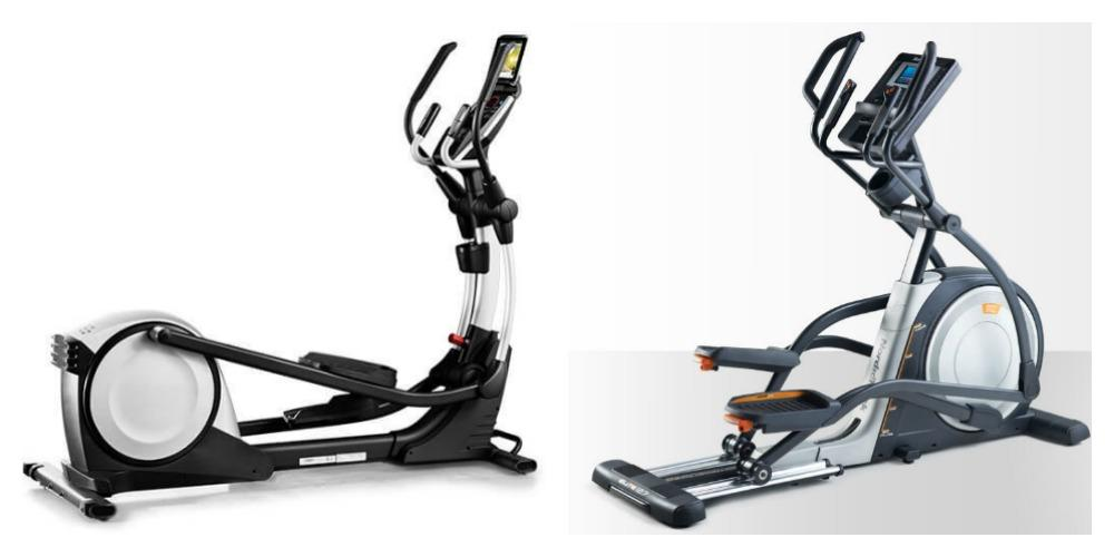 Nordictrack Vs. Proform Elliptical Trainers, side by side
