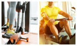 If you're deciding between the rowing machine vs. elliptical, it's a good idea to look at the pros and cons of each.