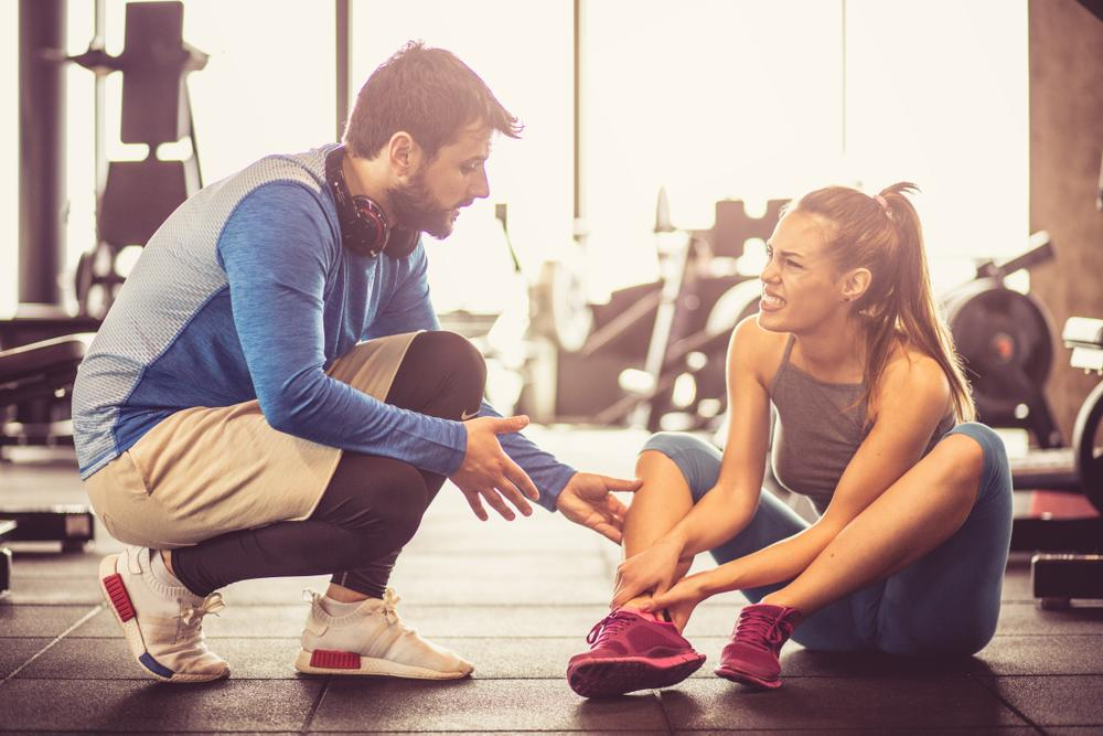 Exercise injuries can be painful and lead to more harmful problems if left untreated.